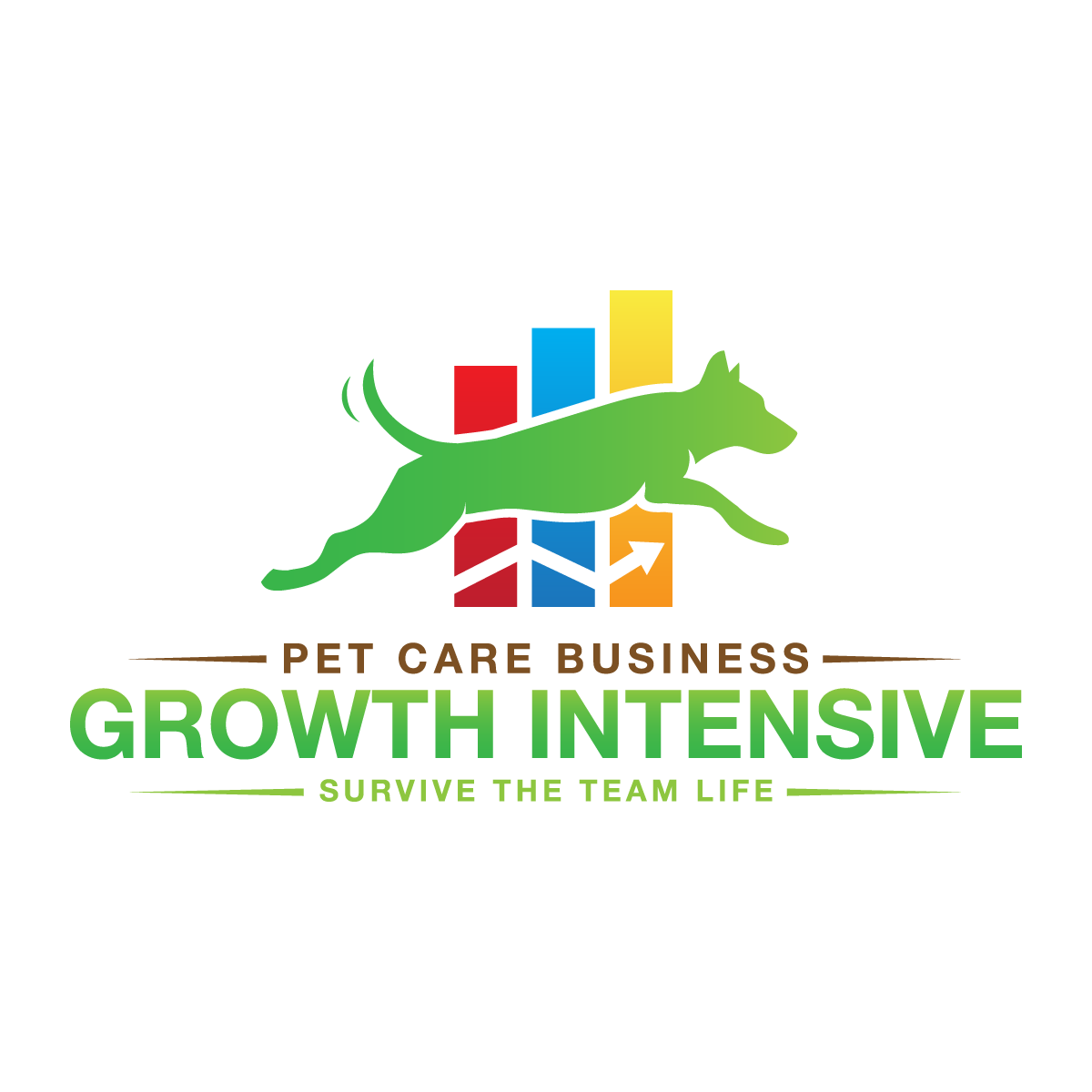 Pet Care Business Growth Intensive Logo