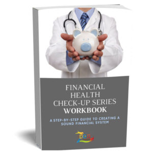 A workbook that povides step-by-step instructions to creating a financial system and was prepared by the dog gurus.