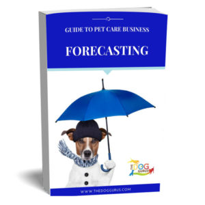 Forecasting business trends in the pet care industry book cover written by the dog gurus.