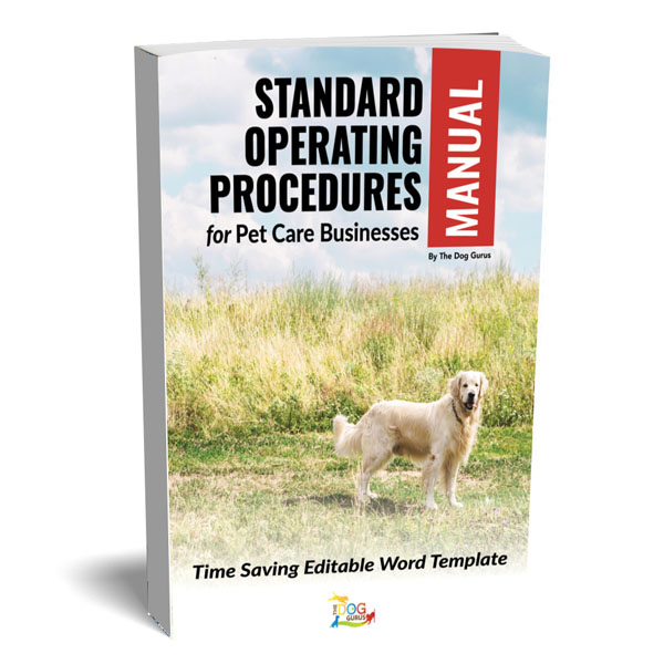 standard pet care business operating manual